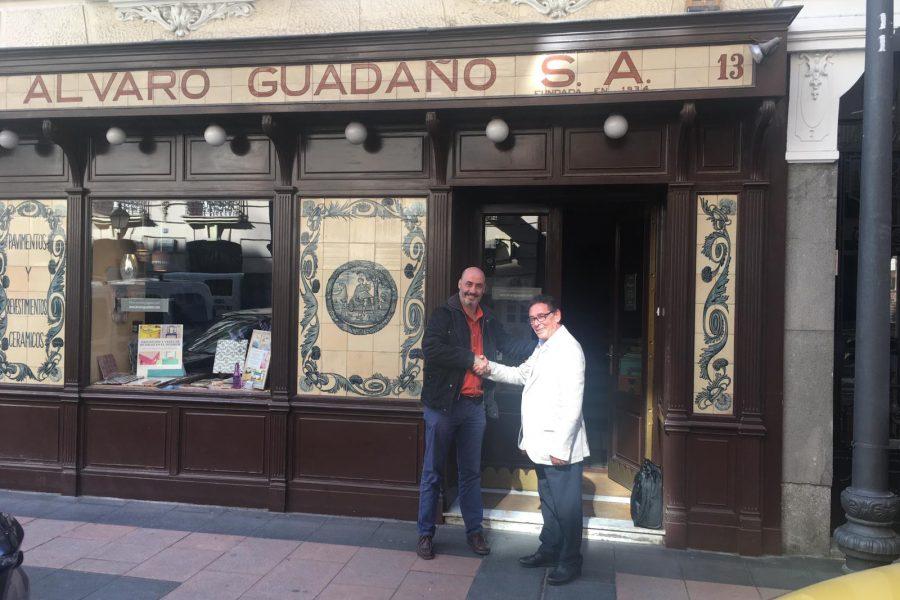 Alvaro Guadaño y Grupo Square